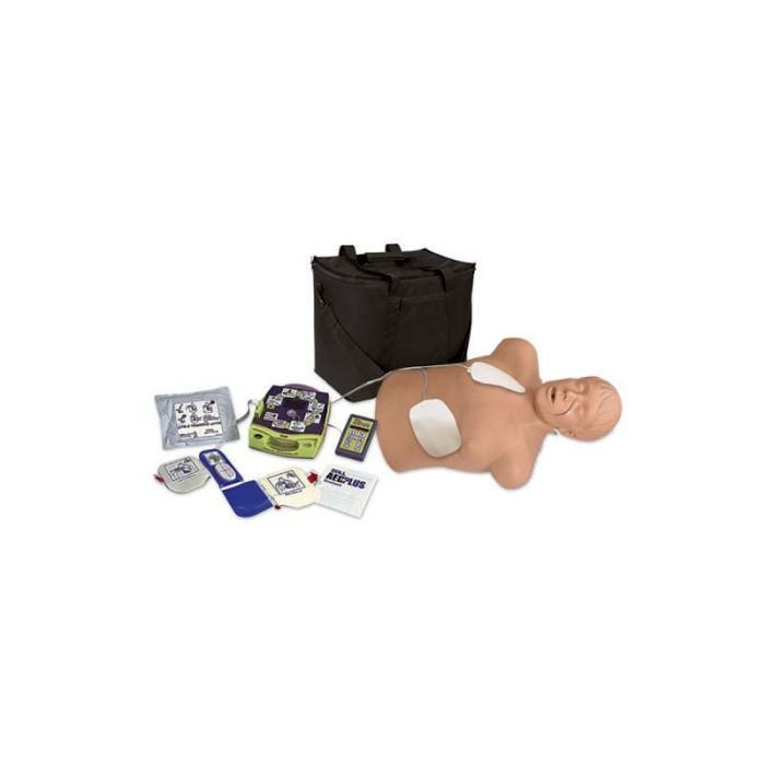 1018859, CPR Torso Brad mit Zoll AED Trainer Package